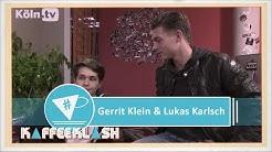 Die Herzensbrecher Gerrit Klein & Lukas Karlsch bei #Kaffeeklash