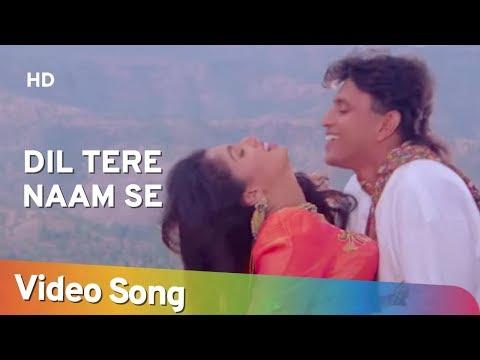 Dil Tere Naam Se (HD)   Aadmi (1993)   Mithun Chakraborty   Gautami   Hindi Romantic Songs
