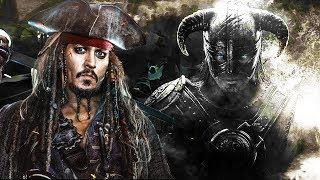 Pirates of the Caribbean X Skyrim | Theme Mashup