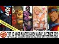Toy Shiz TALKS: Top 10 MOST WANTED X-Men Marvel Legends for 2019!