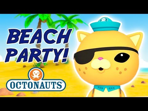 Octonauts - Beach Party | Cartoons for Kids | Underwater Sea Education