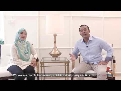 Dream Home of Syahirah & Nazri【HomeRenoGuru.sg】