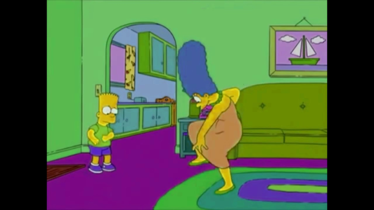 Marge Simpson Dancing Shooting Stars meme v  YouTube