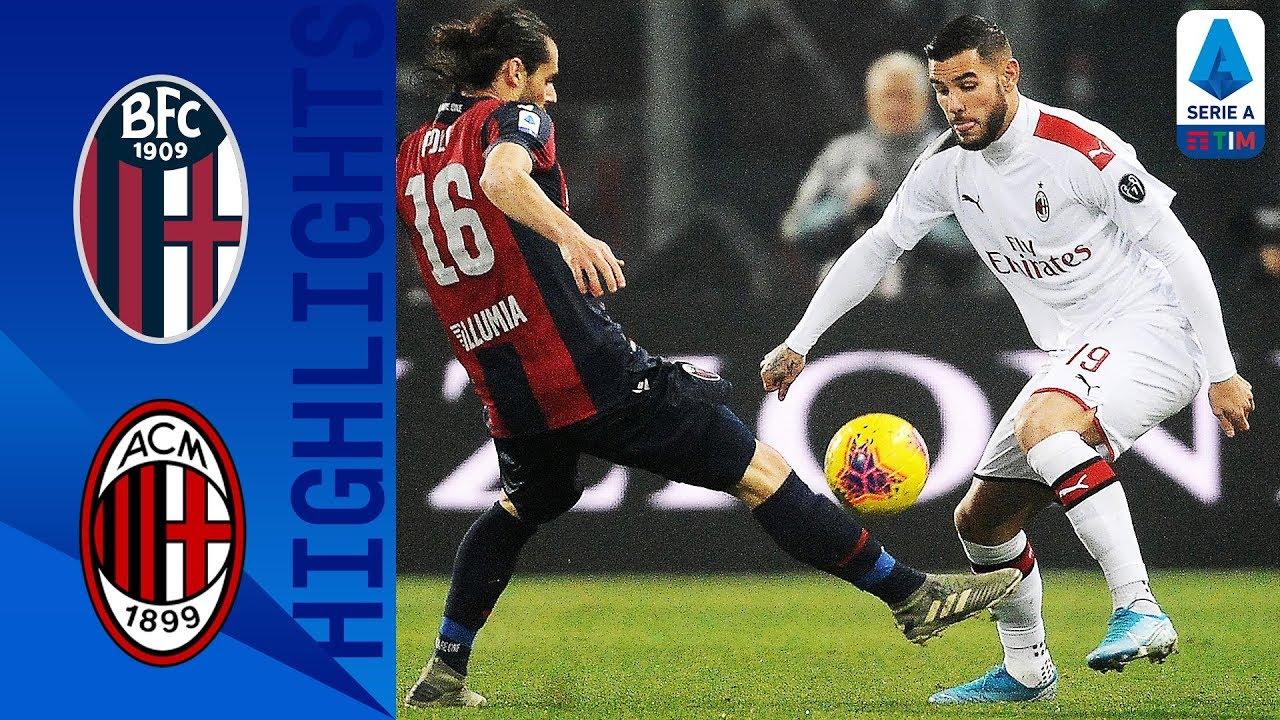 Болонья  2-3  Милан видео