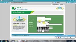 Cara Mencairkan BPJS / Jamsostek Lewat E-Klaim