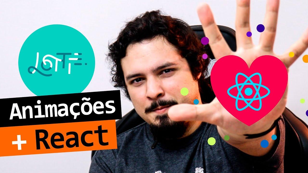 Lottie: Animações Com React De Um Jeito FANTÁSTICO! Feat. Like Do Twitter