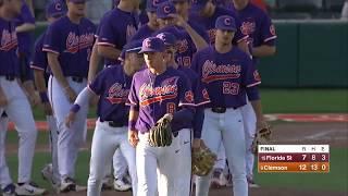 Clemson Baseball || Florida State Game Highlights - 5/6/18