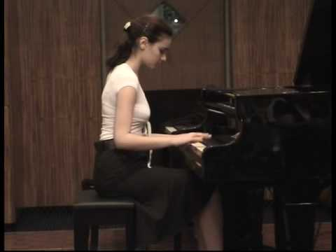 Tamara plays Rakhmaninov-Musical Moment No.4 (age 12)