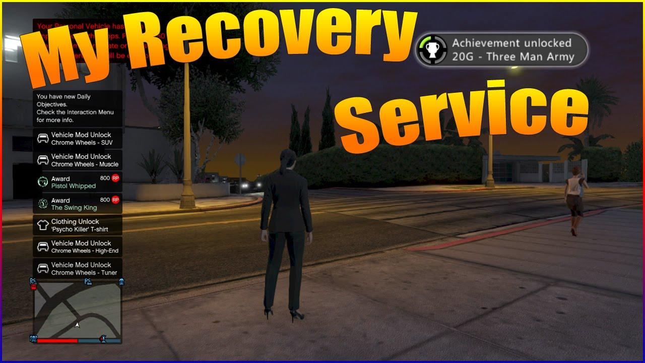 gta 5 service