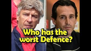 Emery or Wenger, who has the worst defensive?
