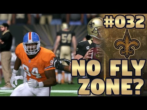 Madden NFL 17 New Orleans Saints Franchise Ep. 32 | No Fly Zone?