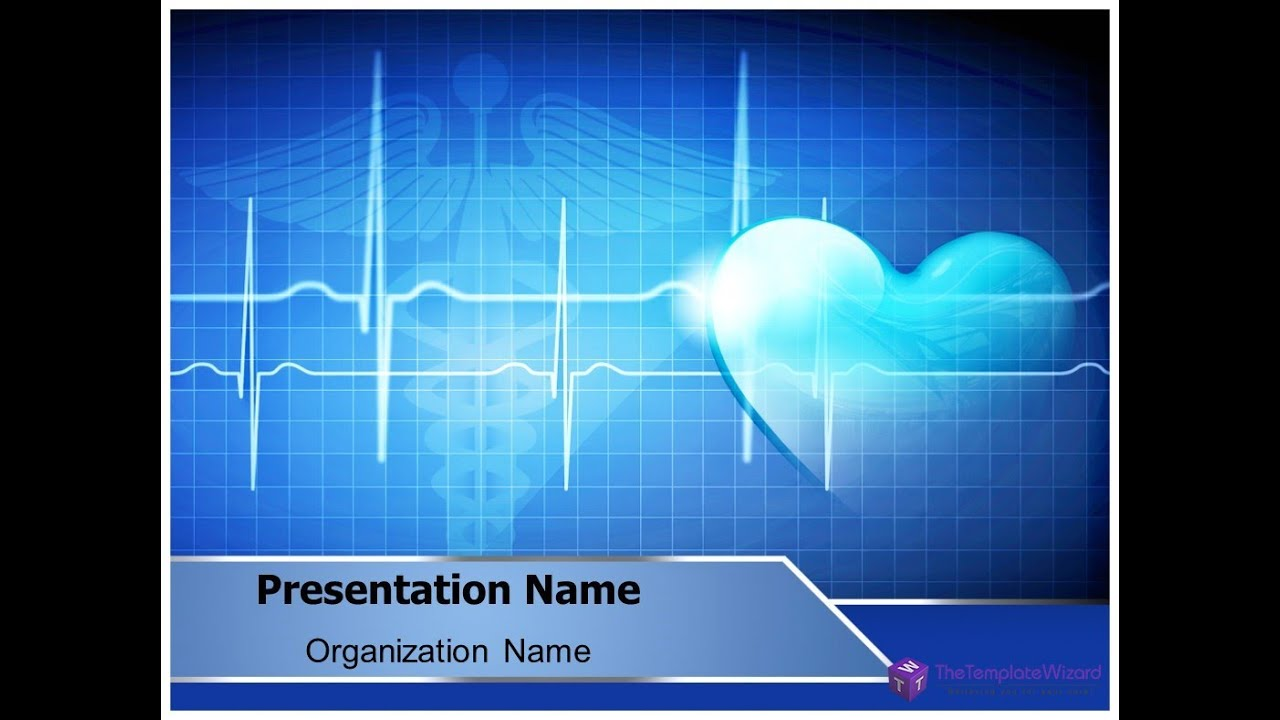 heart beat powerpoint presentation template