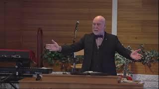 Snorri Óskarsson prédikar.