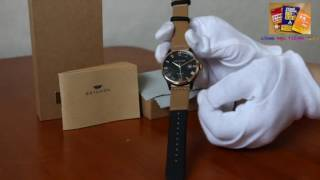 BRIGADA Swiss Brand Business Casual Automatic Watch for men,Stainless Steel Case Wrist Quartz Watch thumbnail