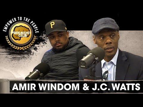 Amir Windom & J.C. Watts Launch 'Black News Channel' Centering Around The Culture 24/7