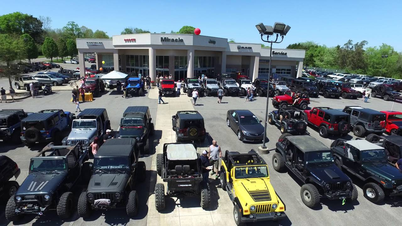 Jeeps And Wrenches   Community Fun Day At Miracle Chrysler Dodge Jeep