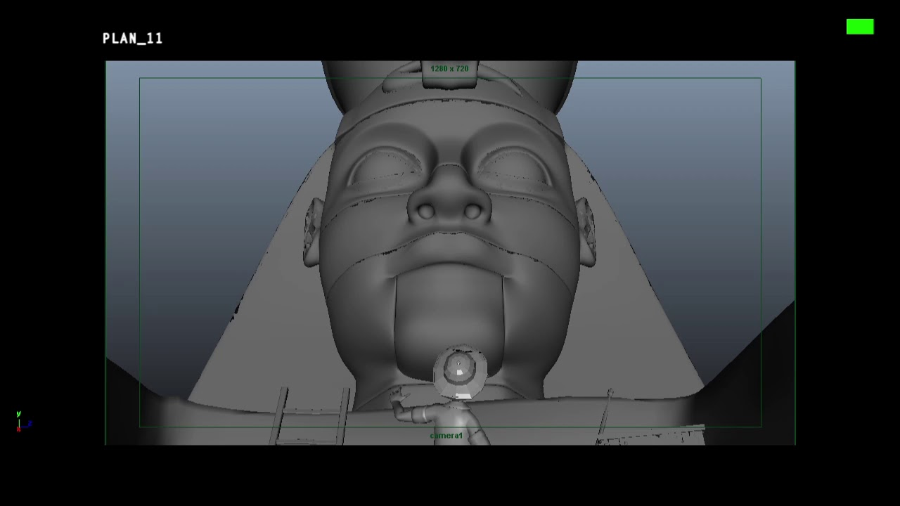 The Egyptian Pyramids - 3D animatic (making of)