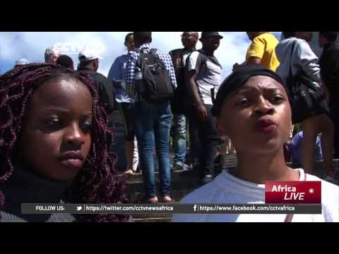 South Africa: UCT Students Protest against Cecil Rhodes' Statue