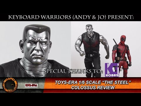 "Toys Era 1/6 Scale Colossus "" The Steel "" Review"
