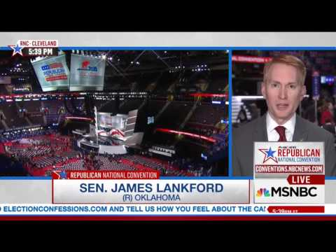 "James Lankford Discusses Trump/Pence on ""Meet The Press"" with Chuck Todd"