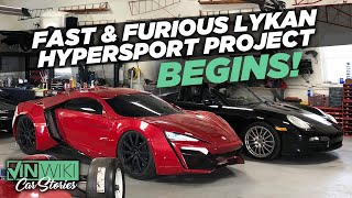 College kids are destroying this Porsche to build the Fast & Furious Lykan