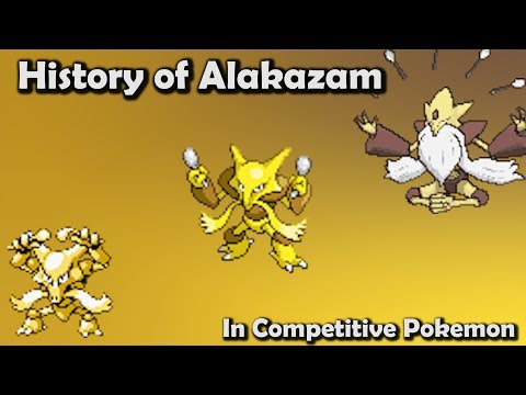 How GOOD Was Alakazam ACTUALLY?  History of Alakazam in Competitive Pokemon Gens 16
