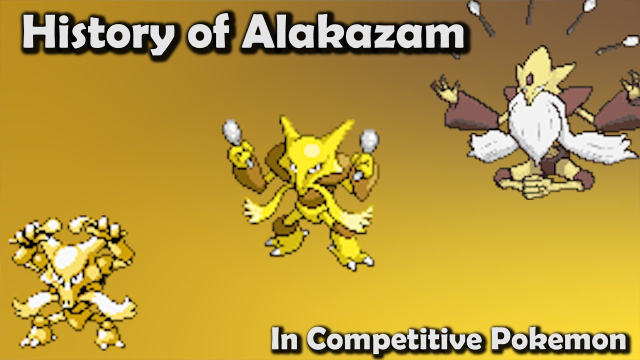 how good was alakazam actually history of alakazam in competitive