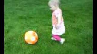 Ana voetbalt