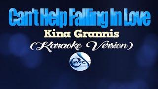 CAN'T HELP FALLING IN LOVE - Kina Grannis (KARAOKE VERSION)