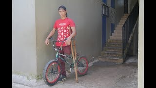 The BMX Stunt Rider With Only One Leg