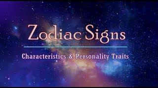 Zodiac Signs Characteristics & Personality Traits