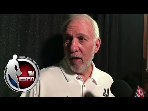 Gregg Popovich on LaMarcus Aldridge
