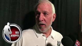 Gregg Popovich on LaMarcus Aldridge's offseason trade request from the Spurs | NBA on ESPN