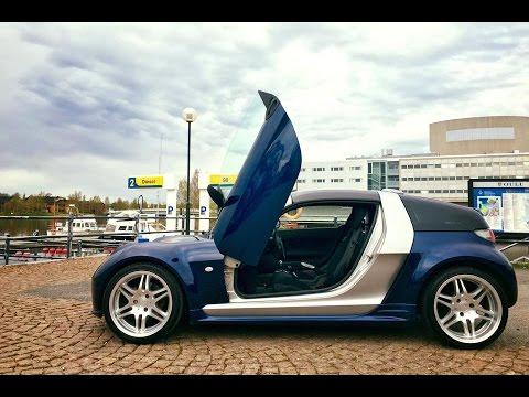 smart roadster coupe brabus ouluzone 23 youtube. Black Bedroom Furniture Sets. Home Design Ideas