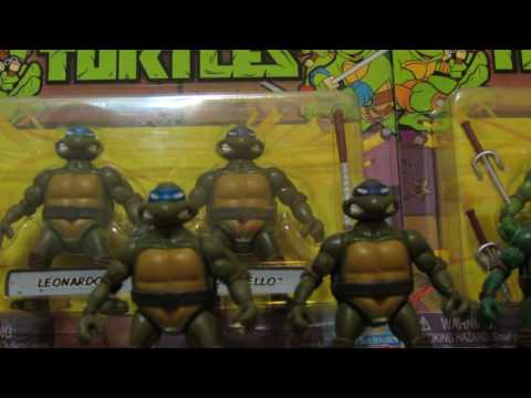 Teenage Mutant Ninja Turtles Mini Dollar Store TMNT Review