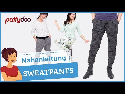 eine coole sweatpants jogginghose sweathose n hen youtube. Black Bedroom Furniture Sets. Home Design Ideas
