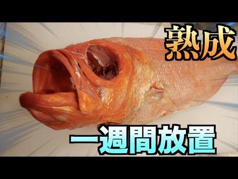 金目鯛を一週間放置して腐らせて食ったらヤバかった。。。