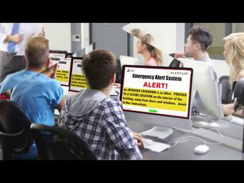 The Alertus Unified Mass Notification System Overview Video