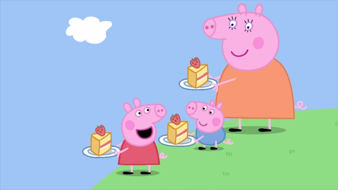 винка Пеппа на русском все серии подряд - Пикник с Peppa Pig! - Мультики