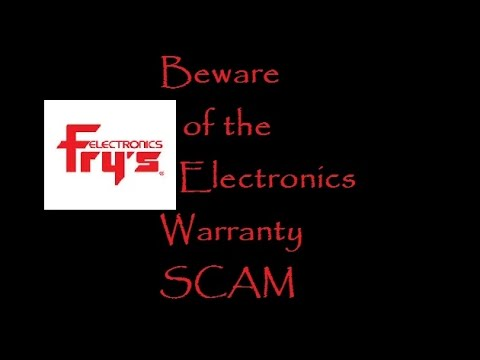 BEWARE of the Fry's Electronics Warranty SCAM and Lenovo Computers