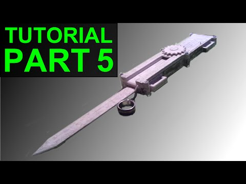 How to Build the (Assassin's Creed) Paper Full Size Dual-Action Hidden Blade (Part 5)