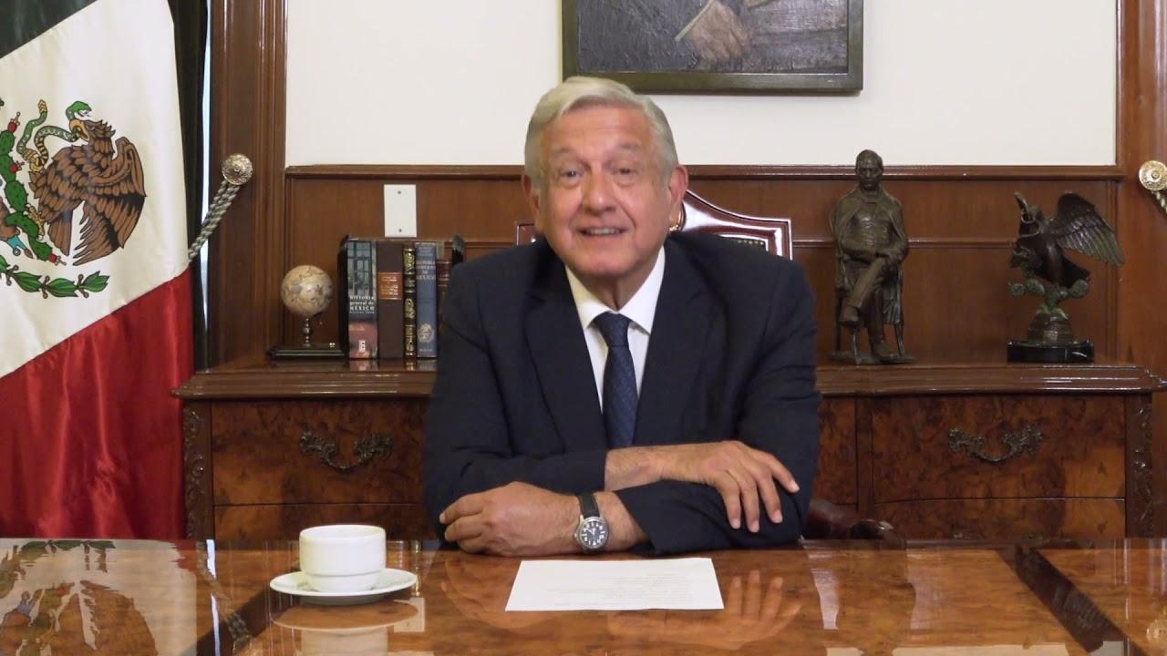 Saludos del Lic. Andrés Manuel López Obrador, Presidente de México. UACM, 20 años.