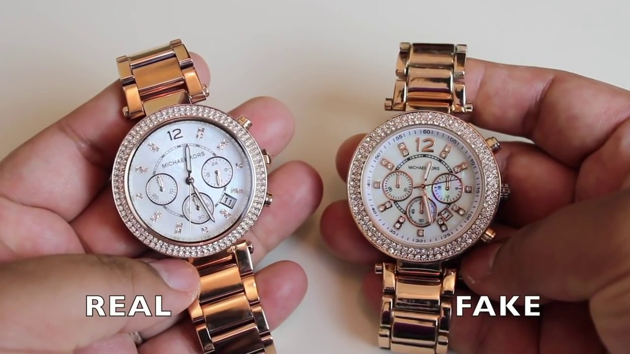 How To Identify A Fake Michael Kors Watch