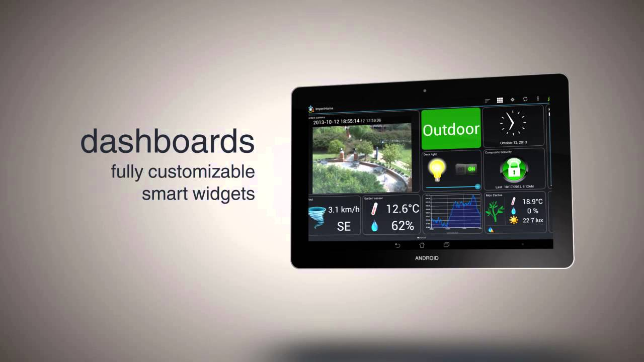 Imperihome 2 5 Smart Home Control App Youtube