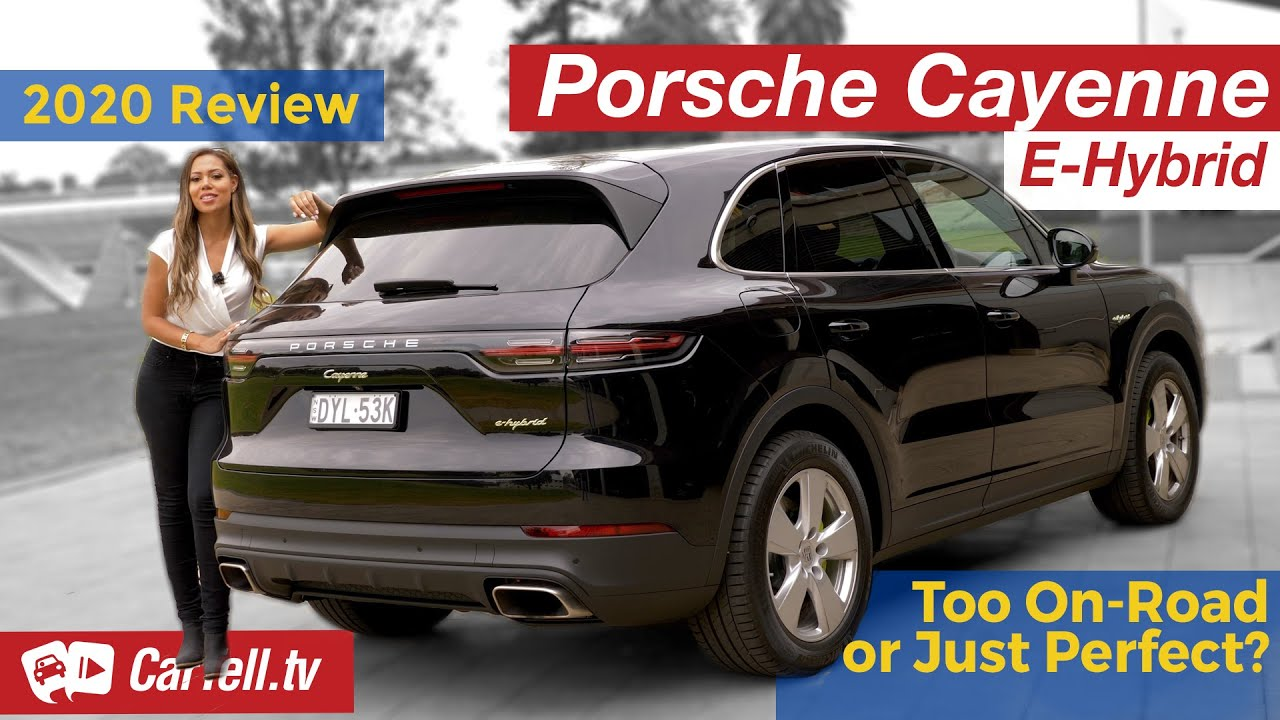 2020 Porsche Cayenne E Hybrid Review Too On Road Or Just Perfect Youtube