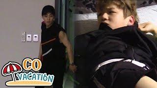 [Co-Vacation: Xiumin & Daniel] Xiumin Sneaks Into The Room Not To Wake Up Daniel 20170904