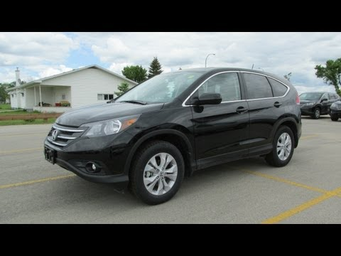 2013 Honda CR-V EX-L Start up, Walkaround and In Depth Vehicle Tour