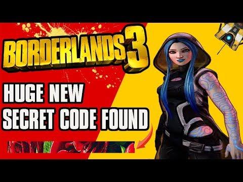 """Borderlands 3 -  Brand New Info """"We Dont Speak Of Sanctuary"""" Secret Hidden Code thumbnail"""