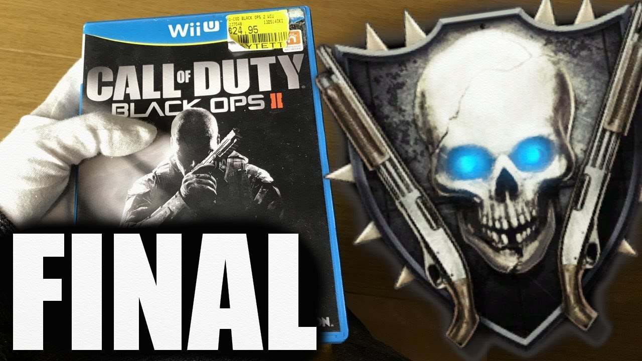 Wii U Black Ops 2 Zombies : Road to shotgun rank on wii u call of duty black ops