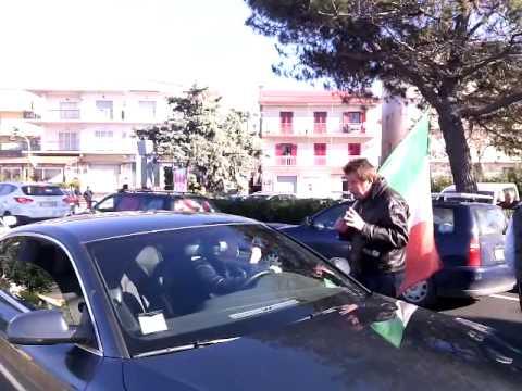 Forconi Campora San Giovanni-Amantea (CS) presidio del 16/12/2013
